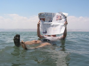 The newspaper industry... floating to oblivion?